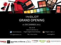 Inglot Romania-Grand Opening ~ Beauty and Fashion by Sunshine Grand Opening, Romania, Eyeshadow, Cosmetics, Makeup, Sunshine, Life, Beauty, Instagram