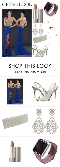 """""""Get the Look: Met Gala 2016 ; can't walk the red carpet without #Fitbit!!"""" by cheyenne-jensen-cj ❤ liked on Polyvore featuring Janique, E! Live From The Red Carpet, Carlo Fellini, Kenneth Jay Lane, Fitbit, GetTheLook, MetGala and fitbit"""