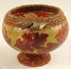 wood burned bowls made of gourds - Google Search
