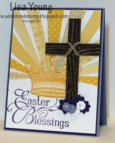 Easter Blessings by genesis - Cards and Paper Crafts at Splitcoaststampers