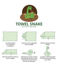 How to Fold Towel Animals - 06