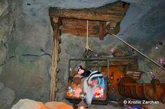 Seven Dwarfs Mine Train, Disney Rides, Disney Magic Kingdom, Painting, Art, Art Background, Painting Art, Kunst, Paintings