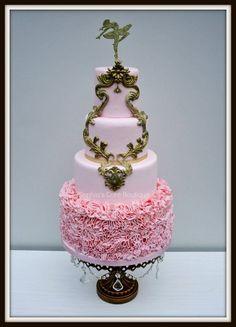 The Ballerina - by SophiasCakeBoutique @ CakesDecor.com - cake decorating website