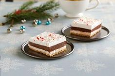 Chocolate-Peppermint Striped Delight