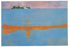 100 Years Ago (2000) by Peter Doig