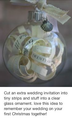 A great wedding keep-sake