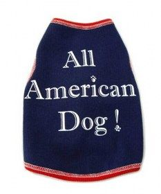 All American Dog Tank Top