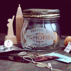 [fromthedaythatwemet] etched vintage kilner jar (with personalised year) by www.vinegarandbrownpaper.co.uk