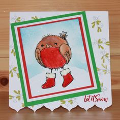 Introducing the very popular 'Round Robins' designed by the very talented Sharon Bennett. Card by Bernie Simmons