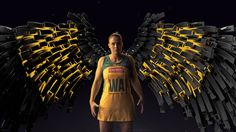 Awesome #graphics and #compositing! RiSE - Netball World Championship 30s