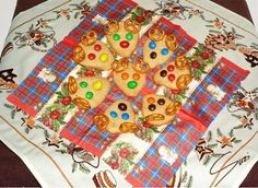 Peanut Butter Reindeer Cookies (inspirated by Bakergirl)