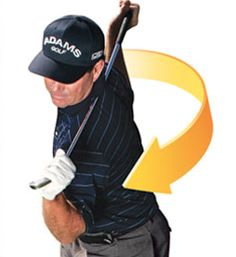 Golf rotation stretches