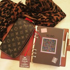 Louis Vuitton Agenda GM Review and Set Up