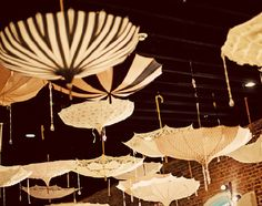 Parasol tent in the Night Circus