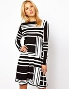 Discover the latest dresses on sale for women at ASOS. Buy the latest collection of long and short dresses in a variety of colours. Order now at ASOS. Love Fashion, Fashion Outfits, Womens Fashion, Fashion Design, Fashion Trends, Fashion Ideas, Black And White Prints, Textiles, White Outfits