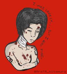 Killing Stalking YoonBum  my perspective of Bum hurt and alone So sad :v  #Killing #stalking #yoonbum #yaoi #draw