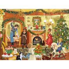- Where Should We Hang The Mistletoe 1000 Piece Jigsaw Puzzle-by Rosiland Solomon