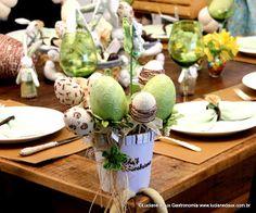 Luciane Daux Gastronomia: Blogagem coletiva - Mesa de Páscoa: lúdica na decoração e no cardápio