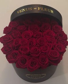 VENUS ET FLEUR Round large box wedding flowers event flowers romantic gift roses