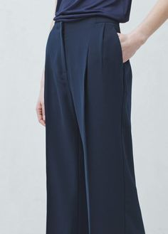 Pantalon droit   MANGO