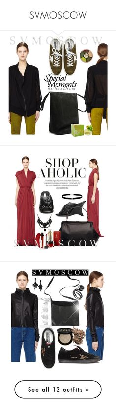 """SVMOSCOW"" by selmir ❤ liked on Polyvore featuring Ann Demeulemeester, Coach, Rick Owens Lilies, Balenciaga, Cartier, Gucci, Amanda Rose Collection, Guidi, Golden Goose and By Terry"