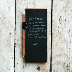 Chalk Tablet - really cool.
