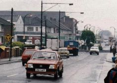 Ballyfermot road Old Irish, Dublin Ireland, The Good Old Days, Old Photos, Past, 1960s, Music, Places, Vintage