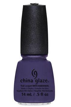 Nail Polish Trends for Fall - China Glaze polish in Queen B $6, sallybeauty.com