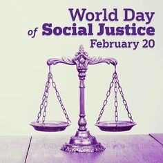 Let's ensure peace, progress and prosperity of all sections of the society on the #WorldDayofSocialjustice