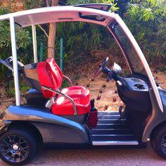 golf cart golf buggy