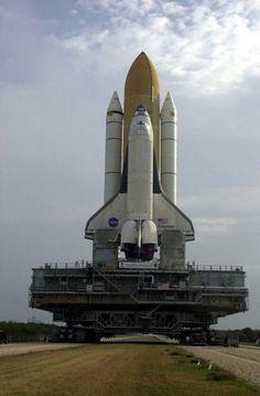 NASA crawler transport mega machine.