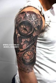 Image result for black and white tattoo sleeve