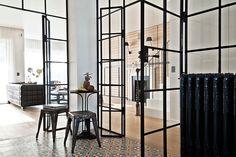 Nuevas tendencias: Usa paredes acristaladas, una solución práctica y hermosa