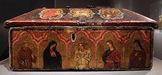 Maestro Espressionista di Santa Chiara -  Cofanetto-reliquiario - 1315-20 ca. - Collezione privata