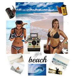 """Untitled #197"" by style75 on Polyvore featuring Seafolly, Polaroid, She Hit Pause Studios and Mr Perswall"