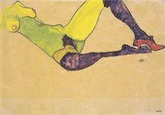 Desnudo reciclado, Egon Schiele, 1910...