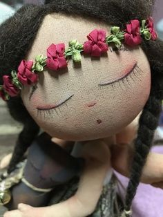 Discover recipes, home ideas, style inspiration and other ideas to try. Peg Doll, Felt Dolls, Doll Toys, Crochet Dolls, Pretty Dolls, Cute Dolls, Beautiful Dolls, Doll Clothes Patterns, Doll Patterns
