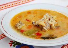Ciorba de miel Cheeseburger Chowder, Thai Red Curry, Soup, Ethnic Recipes, Honey, Fine Dining, Soups