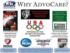 Why Advocare? https://www.advocare.com/150649624