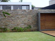 parede pedra madeira