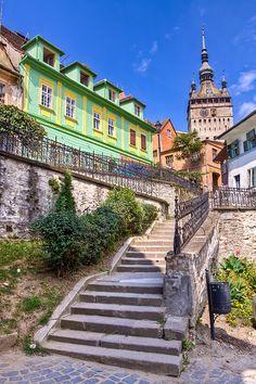 Sighisoara citadel, Transylvania, Romania www.romaniasfriends.com