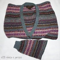 Felt Beads from Recycled Wool Sweater Tutorial