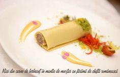 Prezentare culinara: Mici in mantie de mustar by Chef Nico Lontras ~ www.rarefoods.ro