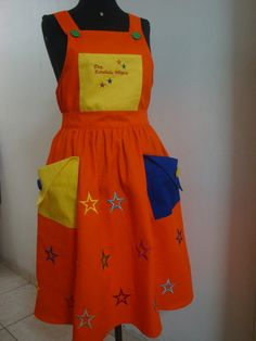 Sewing Aprons, African Dress, Sewing Tutorials, Crafts For Kids, Costumes, Summer Dresses, Children, Creative, Casual