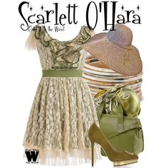 Inspired by Vivien Leigh as Scarlett O'Hara in Gone With the Wind. I would wear this without a second thought. Movie Inspired Outfits, Movie Outfits, Teacher Wardrobe, Scarlett O'hara, Fandom Fashion, Casual Cosplay, Cool Style, My Style, Gone With The Wind