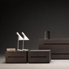 Mesa de noche / rectangular / de interior / moderna 3030 Molteni & C