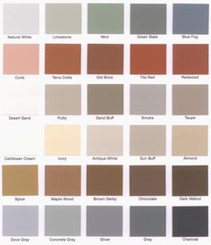 Behr Deck Over Color Chart Google Search Decks In 2019