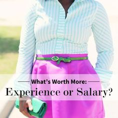 Which Is more important in an internship: money or experience?