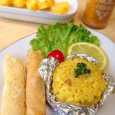 レシピとお料理がひらめくSnapDish - 2件のもぐもぐ - Yellow rice with roll egg by ummy_absurd