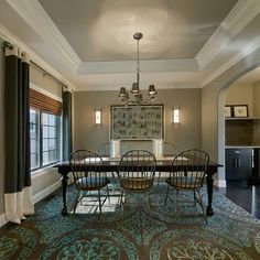 Tray Ceilings Paint Design Painted Tray Ceilings, Painted Trays, Ceiling Paint Design, Ceiling Painting, Bedroom Ceiling, Ceiling Decor, Ceiling Ideas, House Ceiling, Ceiling Curtains